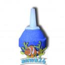 Aquarium air stone ball 2x2, 5cm