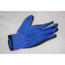 wholesale Working clothes: Work gloves ZEBRA Z-BLUE NITRIC