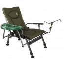 Fishing chair with  adjustable backrest F5-RSTP