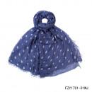 Großhandel Fashion & Accessoires:Schal-Little Stars blau