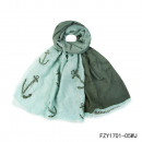 Großhandel Fashion & Accessoires:Schal-Kaper mint