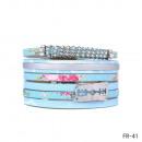 grossiste Bijoux & Montres:Bracelet FR-41 turquoise