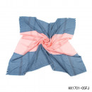 wholesale Fashion & Apparel: Rectangle  2-colored stripes blue-pink