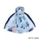 wholesale Fashion & Mode:Scarf-peony marine
