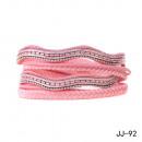 Großhandel Schmuck & Uhren:Armband JJ-92 rosa