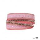 mayorista Joyas y relojes: Pulsera JJ-59 de color rosa