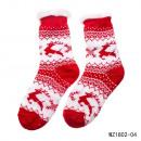 Socks - Running Reindeer