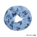 grossiste Vetement et accessoires: Boucle Papillons jeansblau
