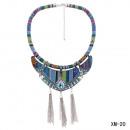 groothandel Sieraden & horloges:Ketting XM-20 turquoise