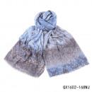 wholesale Jeanswear:Scarf Farbmix jeansblau