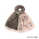 Großhandel Fashion & Accessoires:Schal-Kaper rosa