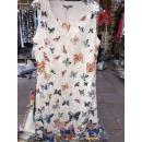 Damen Leinen /  Baumwolle Kleid Kleider