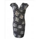 Damen Viscose Kleid Kleider