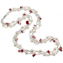wholesale Necklaces: Freshwater pearl and gemstone necklace Twine Pea