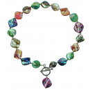 Mother of Pearl necklace, Shell AB Mix