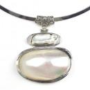 grossiste Chaines: Collier de perles d'eau douce Biwa Shell