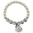 mayorista Joyas y relojes: Perlas de agua dulce Corazones de la perla pulsera