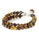 grossiste Bijoux & Montres: Bracelet de pierre gemme de tigre boule