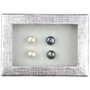 wholesale Jewelry & Watches: Freshwater pearl earring gift set Mea Bling WB