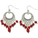 grossiste Bijoux & Montres: Boucles  d'oreilles corail Coral Gipsy