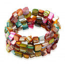 wholesale Jewelry & Watches: Mother of pearl bracelet Shell Multi