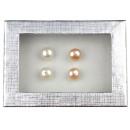 Freshwater pearl earring gift set Mea Bling W-Pe