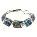 Paarl Nuts  bracelet Abalone Square