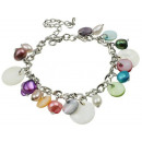 wholesale Jewelry & Watches: Freshwater Pearl Bracelet Pearl Multicolor Shell