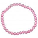 Augen-Armband rosa Edelkatzen