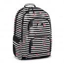 AU Striped Roses  Autonomy Freedom Backpack