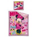 biancheria letto mouse Minnie Disney 160x200 70x80