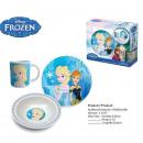 Breakfast set frozen Disney 3 parts BOX