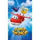 toalla Super Wings algodón para jardín de infantes