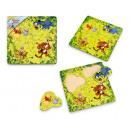 Großhandel Puzzle: TISCHLERBANDSÄGE HOLZ thumbtacks Winnie the Pooh