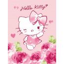 blancket polar fleece Hello Kitty 100x75