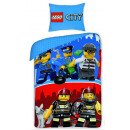bed linen LEGO  city 140x200 70x90 100% coton