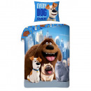 wholesale Bed sheets and blankets: The Secret Life of Pets bed linen 140x200 coton
