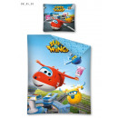 bed linen 140x200 70x80 Super Wings Planes