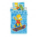 Pościel 140/200 + 70/90 Bart blue 02