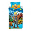 Pościel 140/200 + 70/90 Bob the Builder