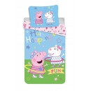 Bedding 140/200 + 70/90 Peppa Pig 031