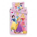 Pościel 140/200 + 70/90 Princess rosa 02