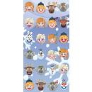 toalla algodón 70/140 emoji frozen