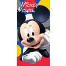 towel coton 70/140 Mickey dots