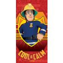 towel coton 70/140 Fireman Sam ed