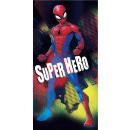 towel coton 70/140 Spider-man hero