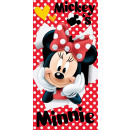 towel coton 70/140 Minnie red 02