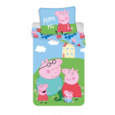 Bedding 140/200 + 70/90 Peppa Pig PEP037