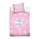 Super girl cot bedding Superman 135x100