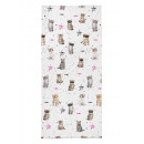 Bed sheet with an elastic band, cats the cat 90x20